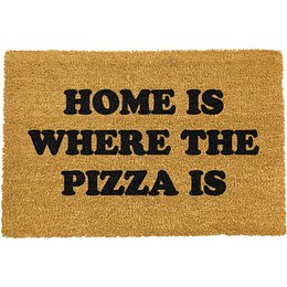 Home Is Where the Pizza Is lábtörlő, 40 x 60 cm - Artsy Doormats