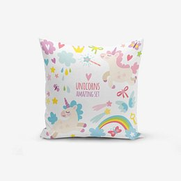 Unicorn Child pamutkeverék párnahuzat, 45 x 45 cm - Minimalist Cushion Covers